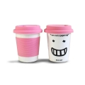 'I Am Not a Paper Cup' - Thermal Porcelain Mug (230ml) - Pink