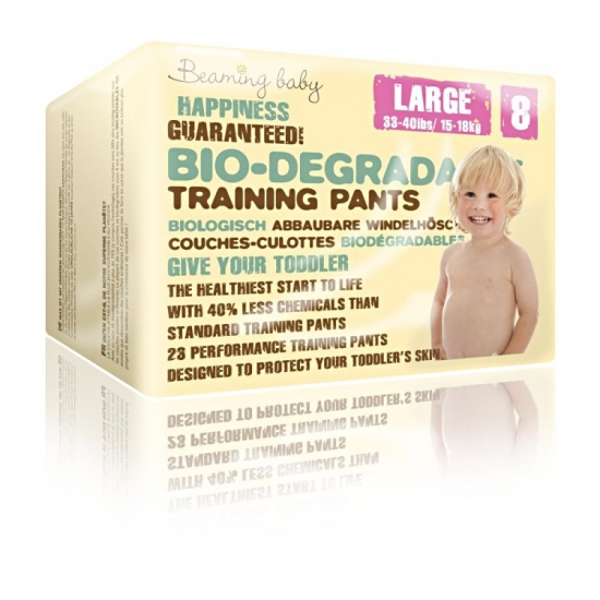 Beaming Baby Bio-degradable Training Pants L (23) Size 8