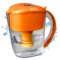 Alkaline Water Filter Pitcher (Orange)